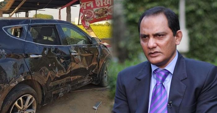 माजी क्रिकेटपटू मोहम्मद अझरुद्दीन यांची कार उलटली