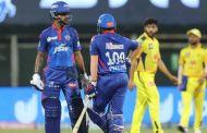 #IPL2021 पृथ्वी-धवनचं धडाकेबाज अर्धशतक; दिल्लीचा चेन्नईवर शानदार विजय