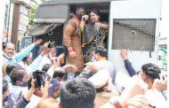 पिंपरीत भाजप नेत्या पंकजा मुंडे यांना पोलिसांनी घेतले ताब्यात
