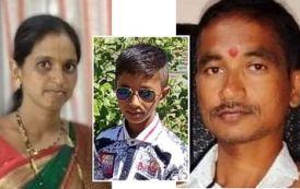 पुणे नाशिक महामार्गावर अपघात: पती, पत्नीसह मुलाचा दुर्दैवी मृत्यू