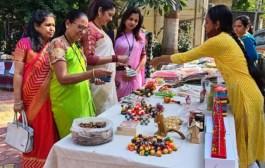 महिला लघुउद्योजकांच्या वस्तू प्रदर्शनाला उत्स्फूर्त प्रतिसाद