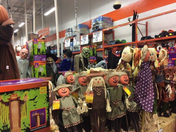 Scarecrows at The Home Depot, Jacksonville