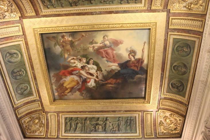 A fresco in Paris