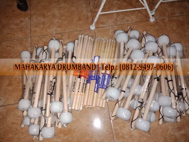 Pengrajin Stick Drum Maple Sungai Pinyuh