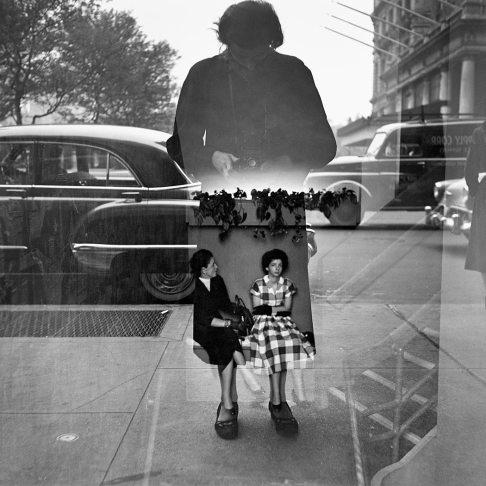 """Vivian Maier """"Self-Portrait"""" 1954"""