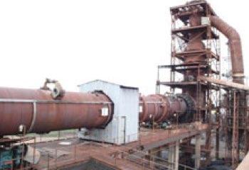Sponge iron industry