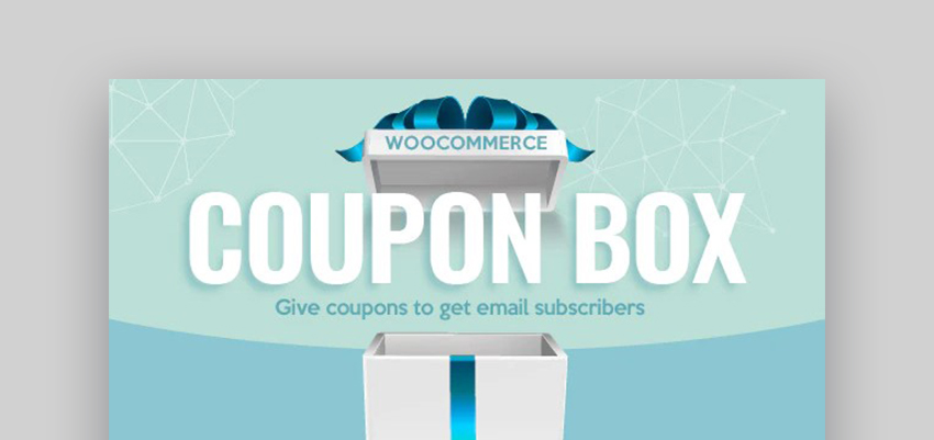 WooCommerce Coupon Box Mailchimp For WooCommerce
