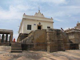 Eradu Katte Basadi, Chandragiri Hillock, Shravanabelagola.