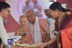 Acharya-Vardhamansagarji-Maharaj-Mangala-Pravesha-Shravanabelagola-Bahubali-Mahamasthakabhisheka-Mahamastakabhisheka-2018-018