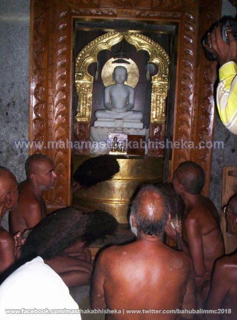 Mahamastakabhisheka-2006-Acharya-Sri-Vardhamansagarji-Maharaj-Mangala-Pravesh-0012