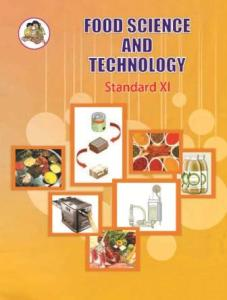 11th state board book Food Science and Technology