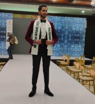 मिस्टर एंड मिस उत्तराखंड 2021 के ग्रेंड फिनाले में काशीपुर के सक्षम माथुर रहे सेकेंड रनरअप