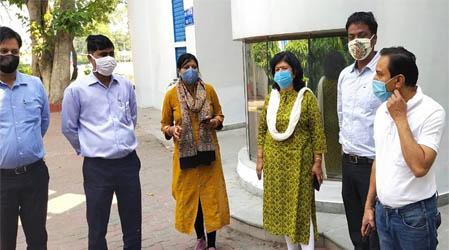 एसडीएम ऋचा सिंह ने लोगों से की कोरोना जांच के लिए सहयोग की अपील