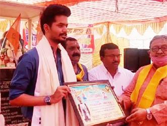 कायस्थ महासभा ने किया होली मिलन समारोह का आयोजन, किया डाॅ. सक्षम माथुर को सम्मानित