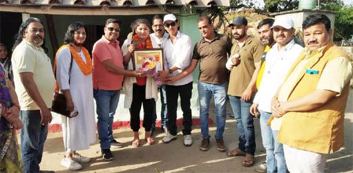 व्यापार मंडल ने किया अंतरराष्ट्रीय पदक विजेता लक्की राणा को सम्मानित