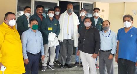 जसपुर में कोविड सेंटर खुला तो मरीजों का निःशुल्क उपचार करेंगे डॉ. सिंघल