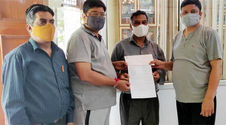 जैन मिलन काशीपुर ने प्रधानमंत्री से की अनोप मंडल के सदस्यों द्वारा बनिया (जैन) धर्म के विरुद्ध किये जा रहे दुष्प्रचार के खिलाफ कार्रवाई की मांग
