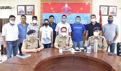 50 लाख रुपये कीमत की 205 ग्राम स्मैक के साथ 2 गिरफ्तार