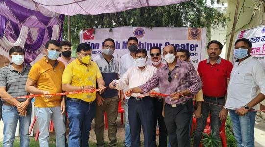 लायंस क्लब काशीपुर ग्रेटर ने एलडी भट्ट चिकित्सालय में लगाया रक्तदान शिविर