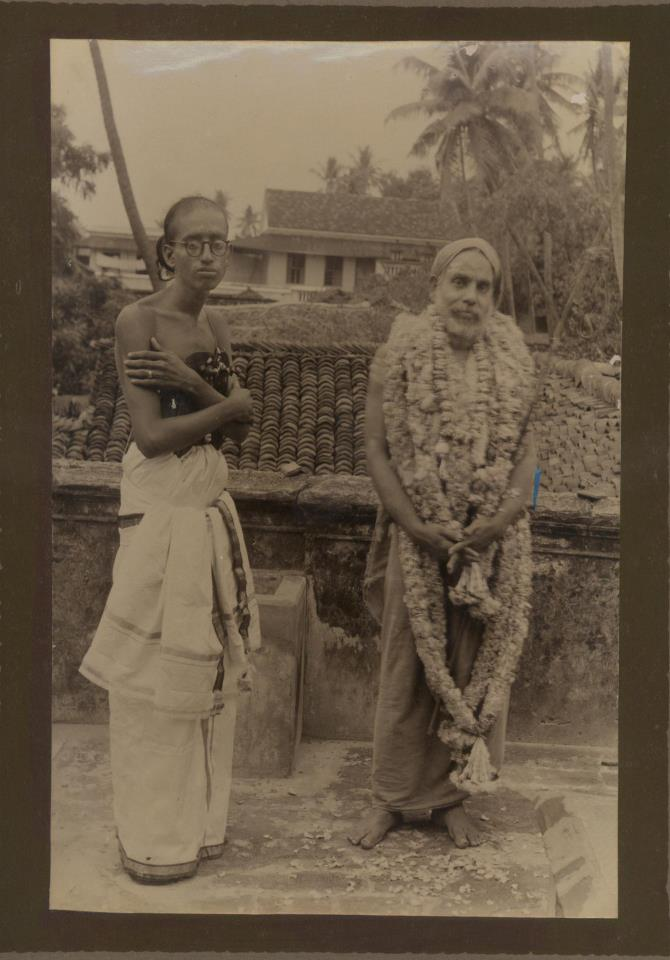 Shri KN Gurumurthy with His Padukas 2