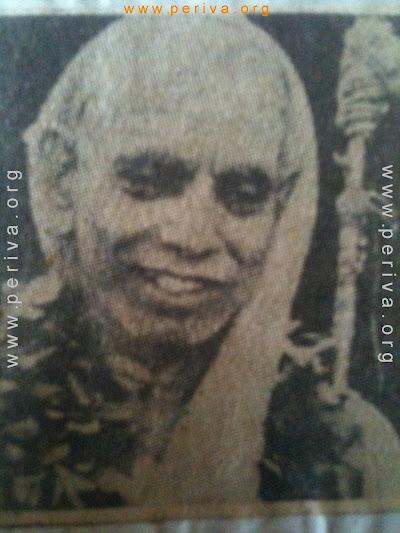 mahaperyava as Jayendra saraswathi swamigal