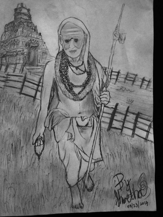 Shwetha_Periyava_Drawing