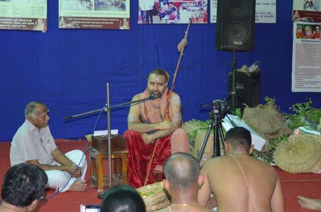 HH Balaperiyava Speaking
