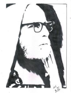 Periyava_right_profile_dark_RK