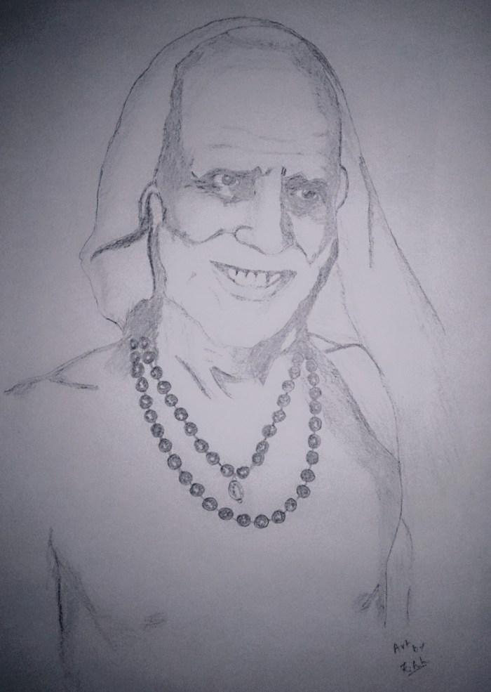 Periyava Smiling Sketch Sudhan.JPG