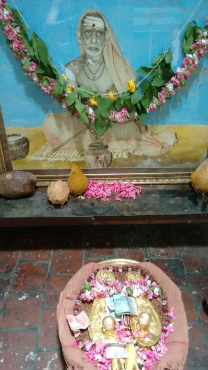 Maha Periyava Padhuka Darisanam