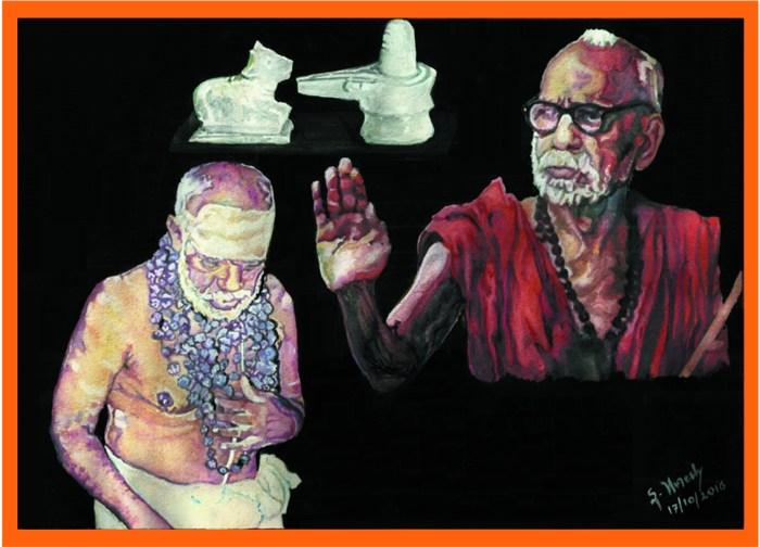 61 Mahaperiyava and Pradosham Periyava 17102016.jpg