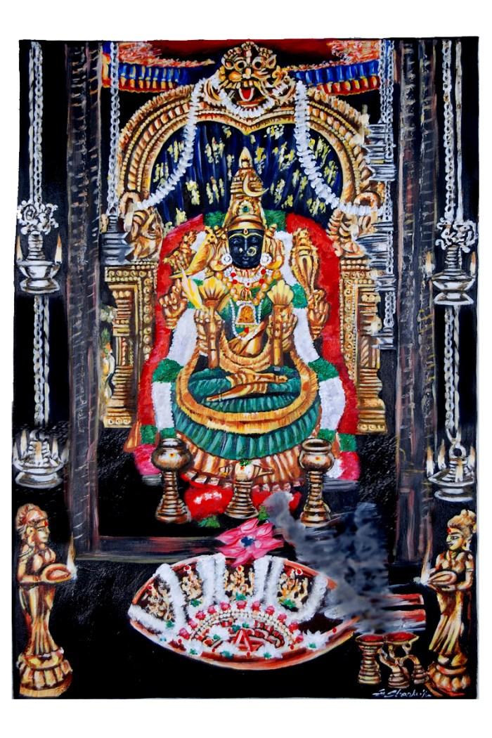 kamakshi-painting