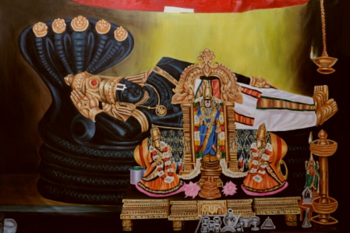 srirangam-ranganathar-painting