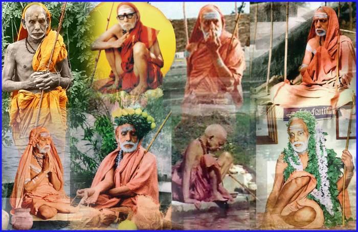 Periyava-collage
