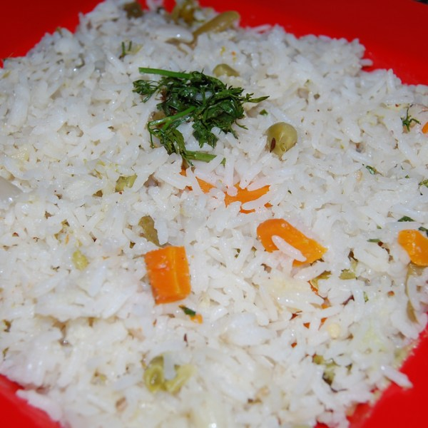 Pepper ghee rice