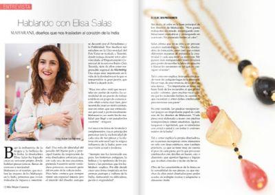 Hablando con Elisa Salas: diseños que nos trasladan al corazón de la India
