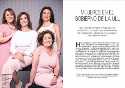 Mujeres en el gobierno de la ULL