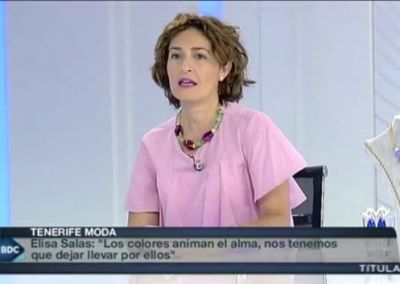 Elisa Salas en Buenos Días Canarias