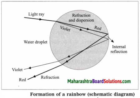 Maharashtra Board Class 10 Science Solutions Part 1 Chapter 6 Refraction of Light 28