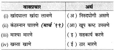 Maharashtra Board Class 10 Marathi Solutions Chapter 2 बोलतो मराठी… 19