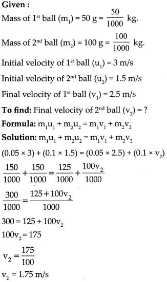 Maharashtra Board Class 9 Science Solutions Chapter 1 Laws of Motion 27