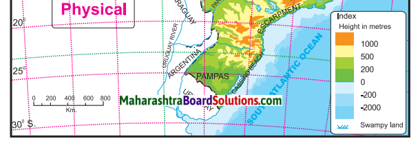 Maharashtra Board Class 10 Geography Solutions Chapter 3 Physiography and Drainage 4