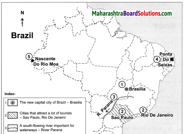 Maharashtra Board Class 10 Geography Solutions Chapter 9 Tourism, Transport and Communication 15