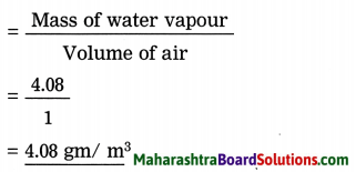 Maharashtra Board Class 8 Geography Solutions Chapter 3 Humidity and Clouds 7