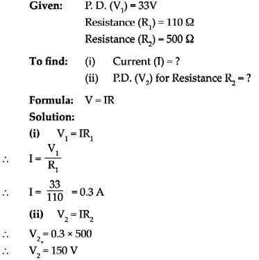 Maharashtra Board Class 9 Science Solutions Chapter 3 Current Electricity 17