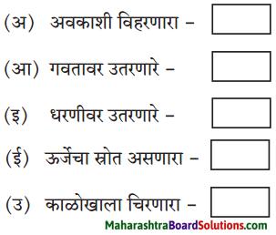 Maharashtra Board Class 6 Marathi Solutions Chapter 6 हे खरे खरे व्हावे 1