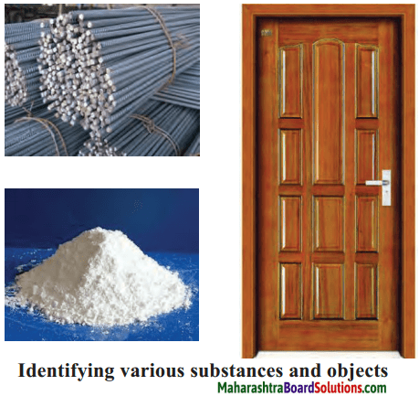 Maharashtra Board Class 6 Science Solutions Chapter 5 Substances in the Surroundings - Their States and Properties 2