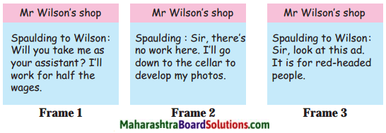 Maharashtra Board Class 7 English Solutions Chapter 4.3 The Red-Headed League 1