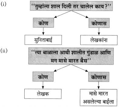 Maharashtra Board Class 10 Marathi Aksharbharati Solutions Chapter 3 शाल 5