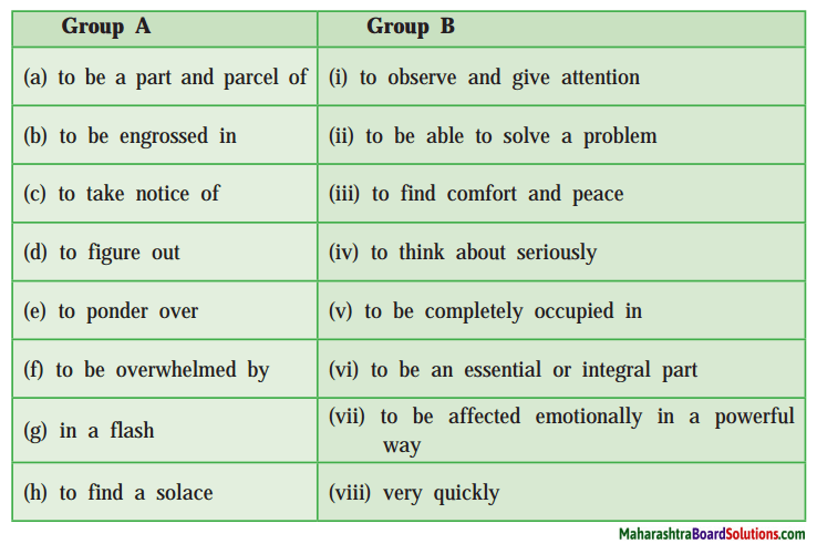 Maharashtra Board Class 10 My English Coursebook Solutions Chapter 1.2 An Encounter of a Special Kind 3